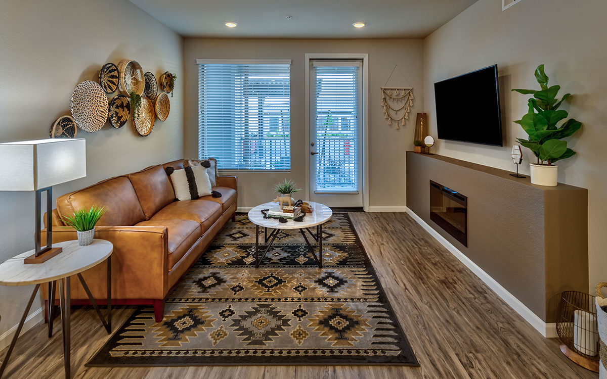 Carson Hills Apartments - Carson City NV - Living Room
